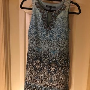 WHBM Sleeveless Beaded Dress - Petite